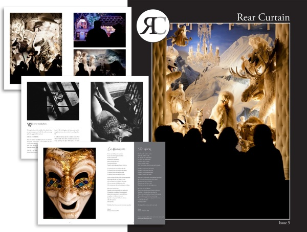 Rear Curtain issue 3 photography story-telling inside pages promo